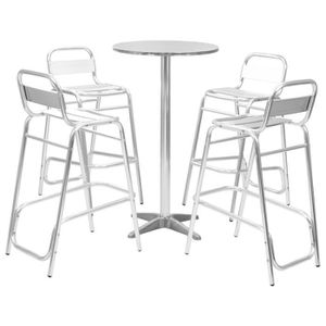 Table ronde reglable
