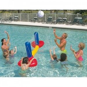 Filet volley piscine achat vente filet volley piscine pas cher cdiscount - Filet de volley pour piscine ...