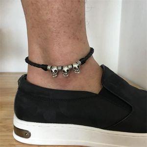 bracelet de cheville homme