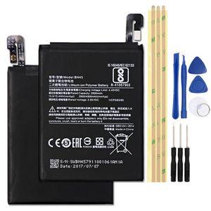 Batterie téléphone BN45 Pour Xiaomi Redmi Note 5 Batterie 3900mAh Bat