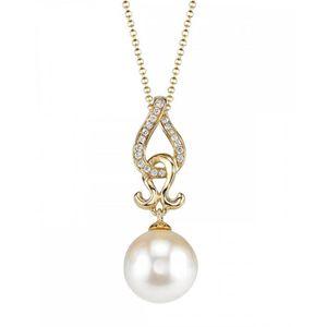 PENDENTIF VENDU SEUL The Pearl Source   Or 750  or jaune 750-1000 (18 c