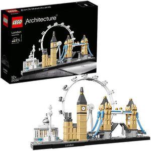 ASSEMBLAGE CONSTRUCTION LEGO® Architecture 21034 - Londres