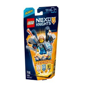 ASSEMBLAGE CONSTRUCTION LEGO® Nexo Knights 70333 Robin L'Ultime Chevalier
