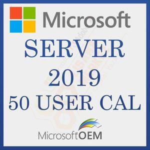 SYSTÈME D'EXPLOITATION Microsoft Server 2019 User 50 CAL  RDS  Avec Factu
