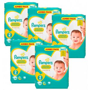 COUCHE Giga Pack 340 Couches Pampers New Baby - Premium P