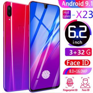 SMARTPHONE 6.2 Pouces HD Grand écran X23 3GB RAM 32GB ROM Cam