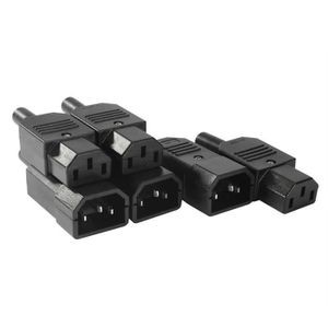 250 V 10 A 3 Bornes Panneau Monté Inlet Male Power Socket Connecteur 3Pcs