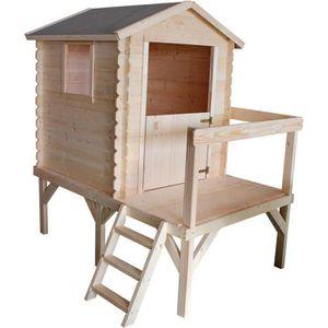 MAISONNETTE EXTÉRIEURE Cabane en bois pour enfant  ZOE
