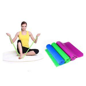1.5 M élastique Yoga Stretch Résistance Exercice Fitness Bande Theraband Sangle Ceinture