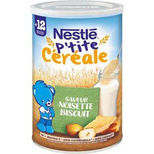 CÉRÉALES BÉBÉ NESTLÉ P'tite céréale Saveur noisette biscuité - 4