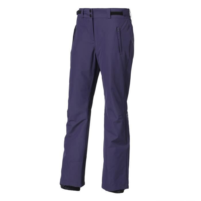 ROSSIGNOL Pantalon de ski W SLEET PANT - Femme - Bleu Marine