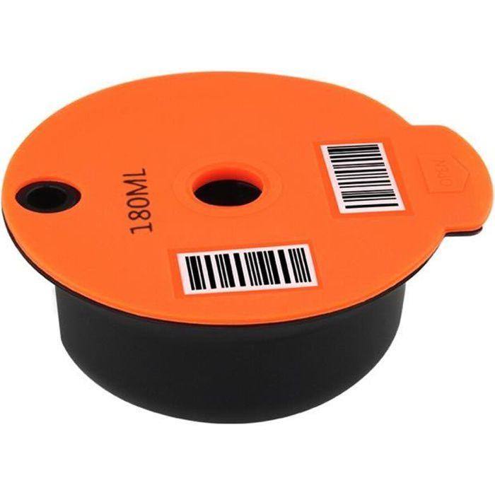 Capsules de café en plastique réutilisables, dosette, dosette, pour Tassimoo, paniers filtres rechargeables, Gadgets de [9491F88]