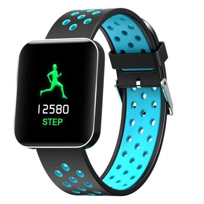 1,54 - Heart Activité Rate Step Musique Smart Control Montre Bracet For Kids Femmes T039A5