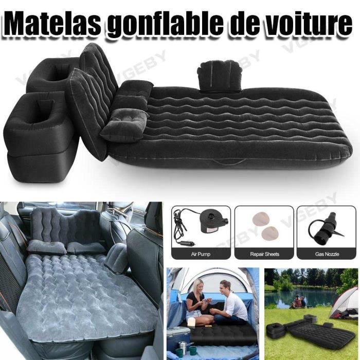Matelas gonflable voiture avec pompe à air pour voiture couch-air,garage extérieur idéal pour camping, voyage, car -ABI