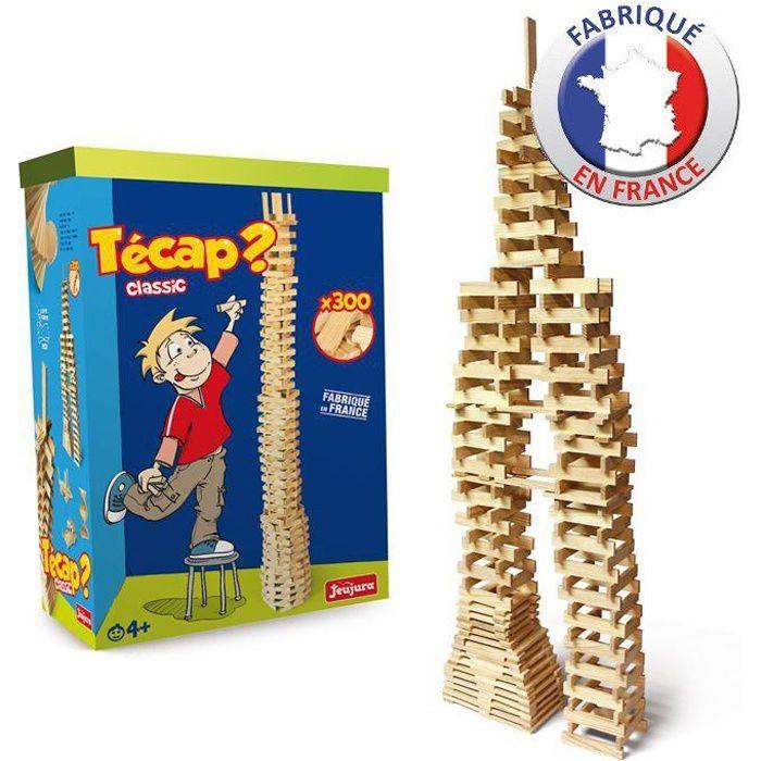 JEUJURA - TECAP Classic 300 planchettes en bois