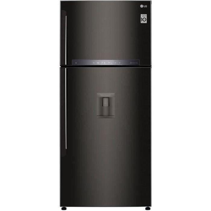 LG - GTF7850BL - Réfrigerateur congélateur 2 portes - 509L (379L + 130L) - NO FROST - A++ - L78cm x H180cm - Noir