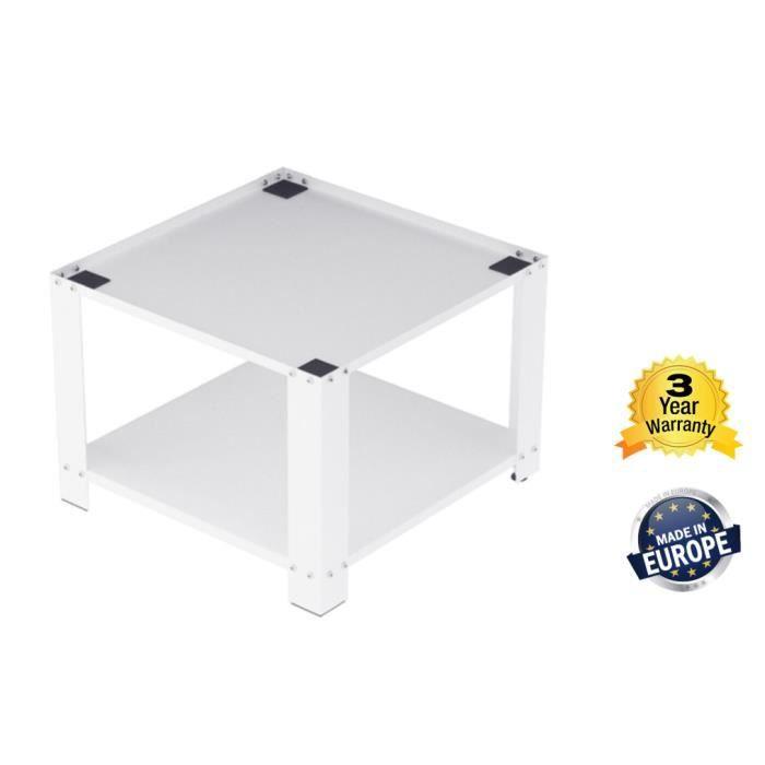 Support / Socle Universel pour machine à Laver (Hauteur 50cm) - Blanc