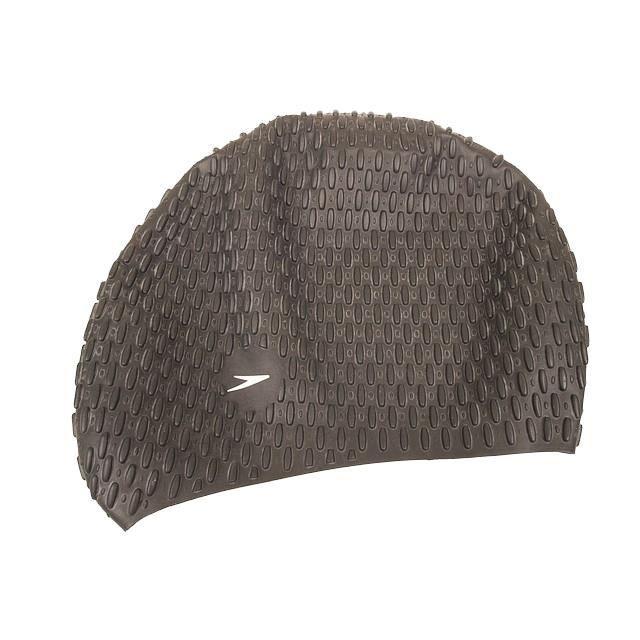 Bonnet de bain Bubble noir bonnet bain