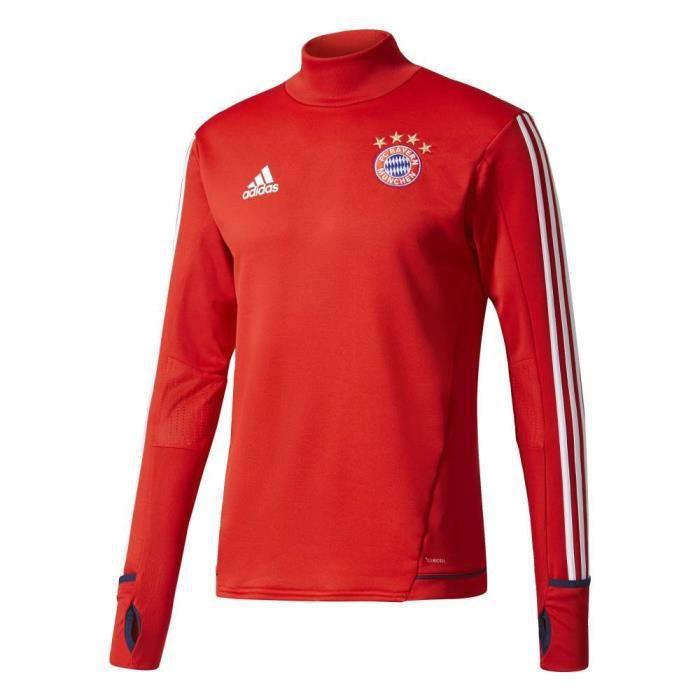 ADIDAS Maillot d'entrainement de football Bayern 17 - Mixte - Rouge