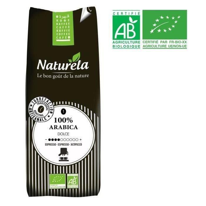 Naturela -250g- Café 100% Arabica Expresso n° 1 Bio