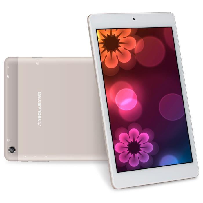 """Tablette Tactile Teclast P80 Pro 3Go+32Go 8"""" Ips 1920 x 1200 Android 7.0 Mt8163 Quad Core 64 Bit 2 Caméra Wifi"""
