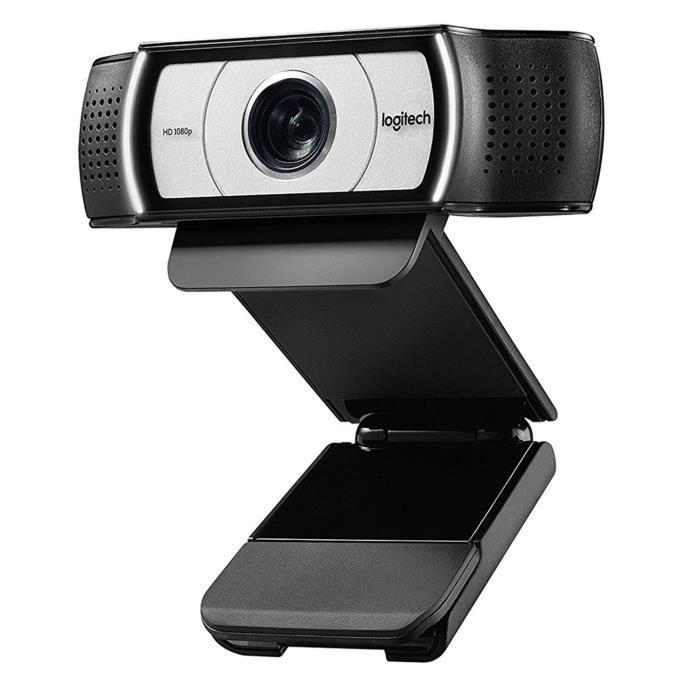 Logitech Webcam video C930e 1080P Hd Vue etendue a 90 degres