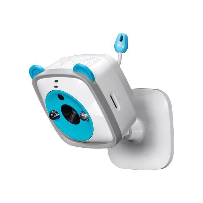 TRENDnet TV IP745SIC WiFi HD Baby Cam Caméra de surveillance réseau couleur (Jour et nuit) 1280 x 720 audio sans fil Wi-Fi…