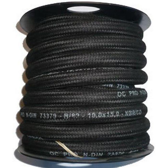 1 Mètre DURITE CARBURANT ESSENCE GASOIL DE 3.5mm x 7.5mm