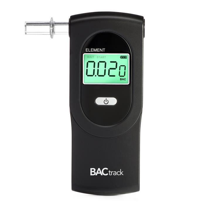 Ethylotest Bactrack Element Professional Portable Breath testeur dalcool