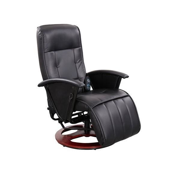 fauteuil de massage similicuir noir de 102 cm achat. Black Bedroom Furniture Sets. Home Design Ideas