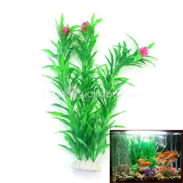26cm fausse plante en plastique d coration int rieur aquarium pr poisson achat vente d co. Black Bedroom Furniture Sets. Home Design Ideas