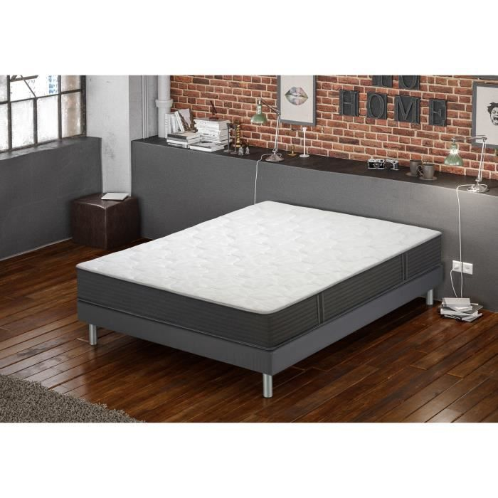 creasom matelas sommier apesanteur confort ferme alliance mousse haute r silience latex. Black Bedroom Furniture Sets. Home Design Ideas
