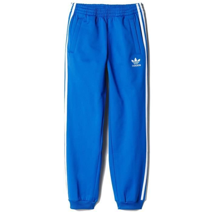 Pantalon Superstar Bleu Garçon Adidas Bleu Achat Vente