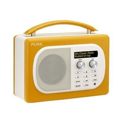 radio pure evoke mio mustard radio cd cassette avis et prix pas cher cdiscount. Black Bedroom Furniture Sets. Home Design Ideas