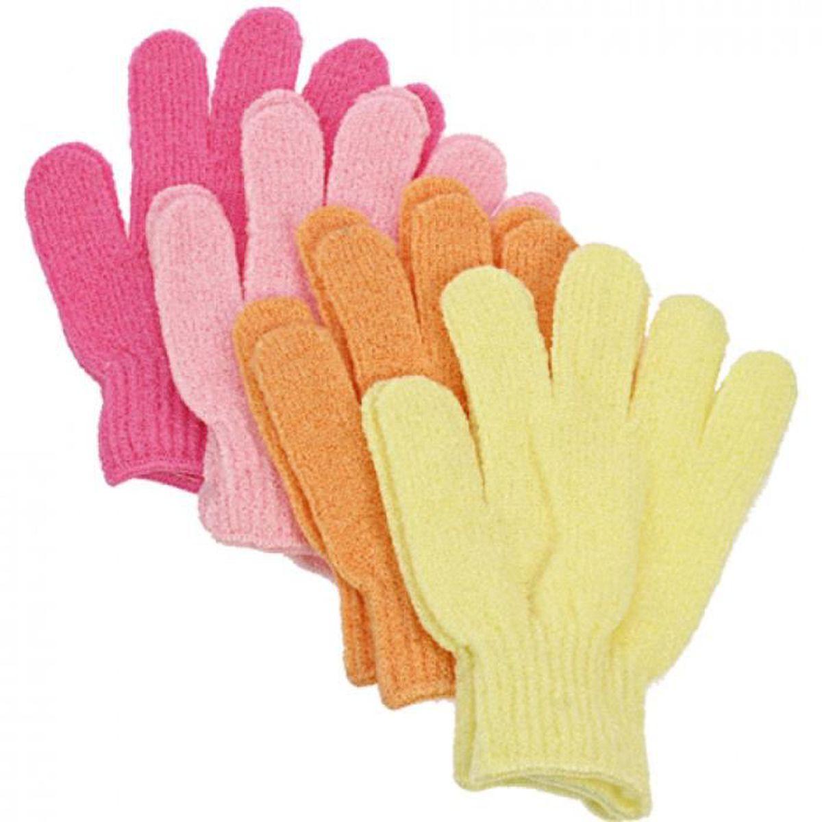 GANT DE TOILETTE Lot revendeur 10X Paire de gants de bain exfoliant