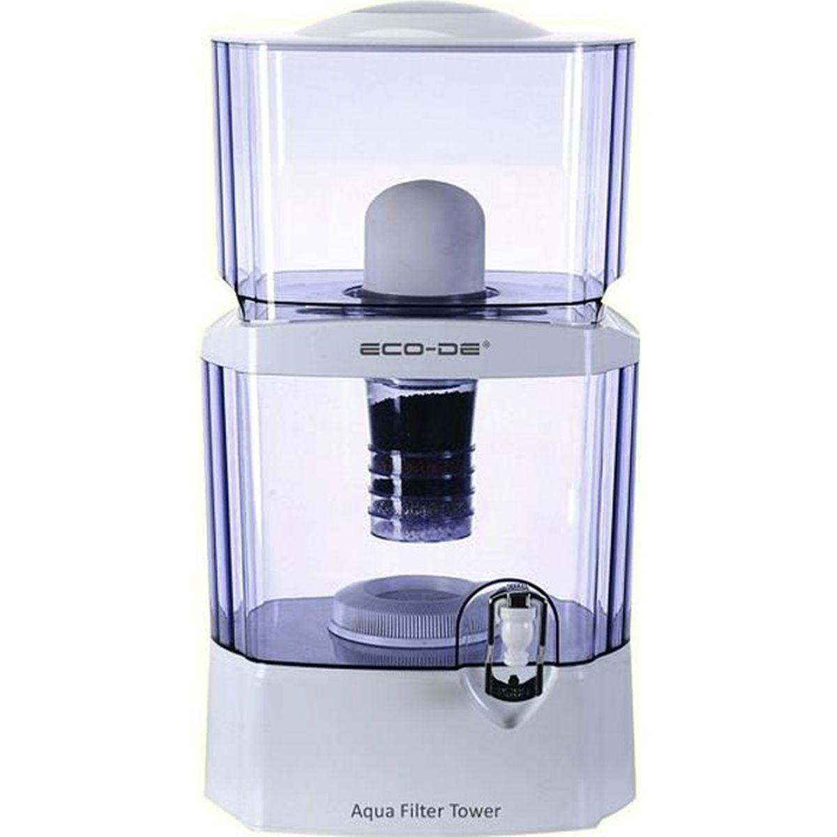 Consommation Fontaine À Eau purificateur eau 24 l+ fontaine a eau eco-de - achat / vente
