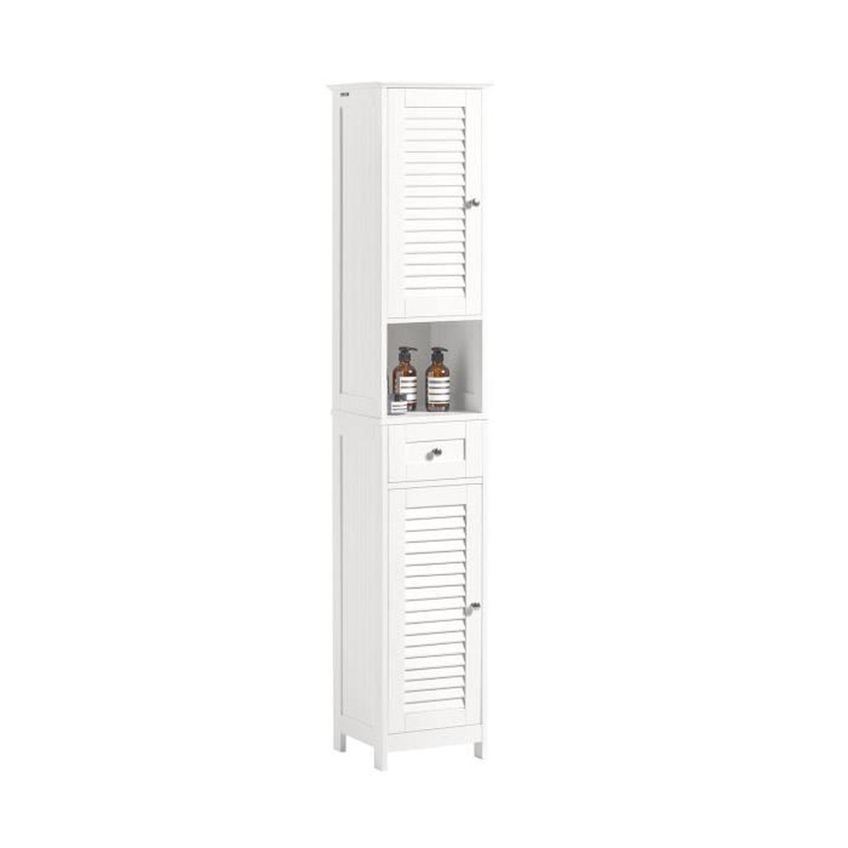 Salle De Bain Image colonne salle de bain blanc brillant