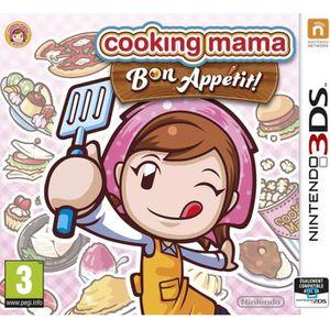 JEU NEW 3DS - 3DS XL Cooking Mama 5 Bon Appetit - Jeu Nintendo 3DS