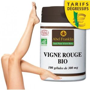 CIRCULATION SANGUINE Vigne rouge bio 100 gélules
