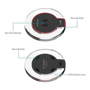 CHARGEUR TÉLÉPHONE Alpexe® Chargeur sans Fil, Ultra Mince Chargeur Pa
