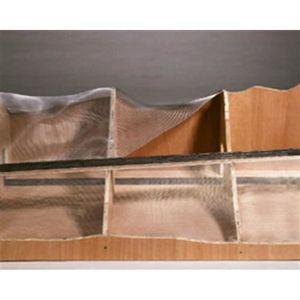 LIVRE DÉCORATION 60990 Aménagement paysager en aluminium Grillage M