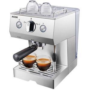 COMBINÉ EXPRESSO CAFETIÈRE Aicok Cafetière Expresso, Machines à Café Expresso