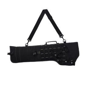 SAC DE CHASSE Tactical Rifle Fourreau armée militaire Noir Holst