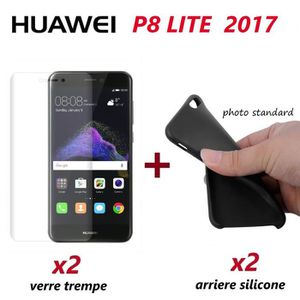 Coque verre trempe huawei p8 lite 2017