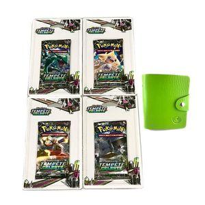 CARTE A COLLECTIONNER Carte Pokemon - Lot de 4 boosters TEMPETE CELESTE