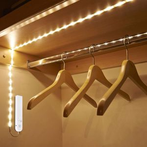 BANDE - RUBAN LED Bande lumineuse LED capteur mouvement 2 mètres pla