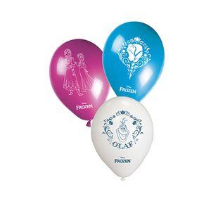 BALLON DÉCORATIF  8 Ballons - La Reine Des Neiges 2