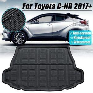 Toyota IQ 2009 Sur Tapis Sol Voiture Noir Mat Avec Rouge Bordure