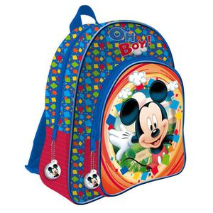 CARTABLE MICKEY ET SES AMIS - Grand cartable 41 cm 2 zips a