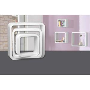 CASIER POUR MEUBLE Decosa Etagère-cube Till, polystyrène blanc - CART